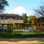 Blick auf Schloss Branitz von Südosten
